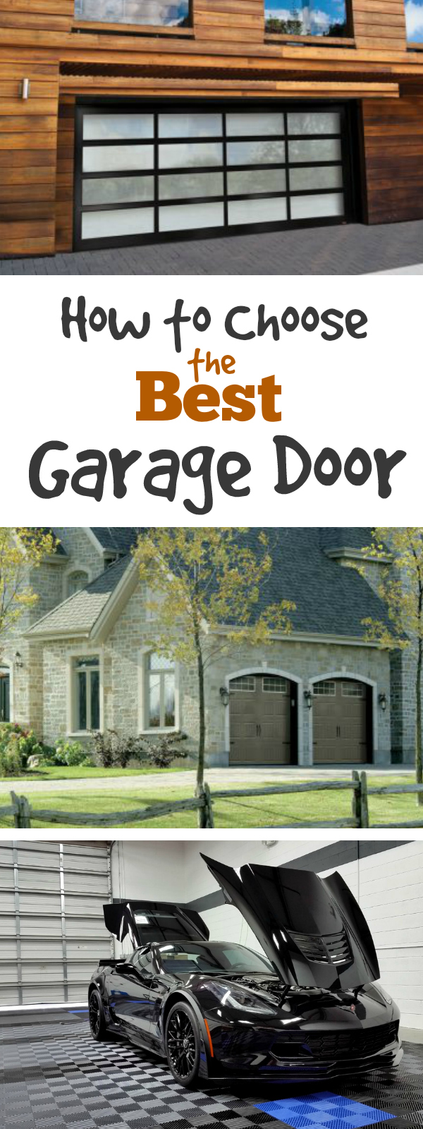 How to Choose Your Garage Door: Learn how to choose the best garage door for & How to Choose the Best Garage Door - FlooringInc Blog