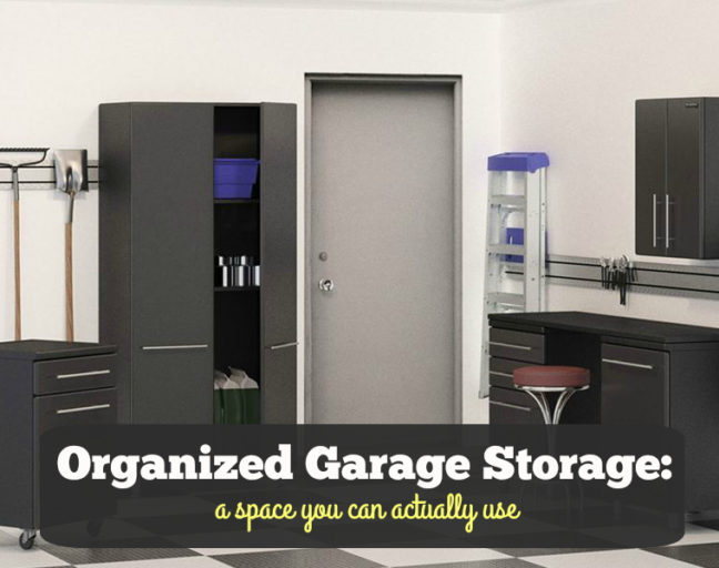 Organized Garage Storage: A Space You Can Actually Use