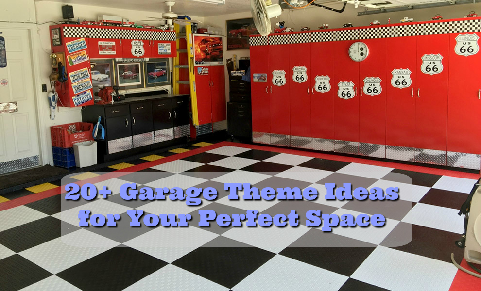 20 Garage Theme Ideas For Your Perfect Space FlooringInc Blog