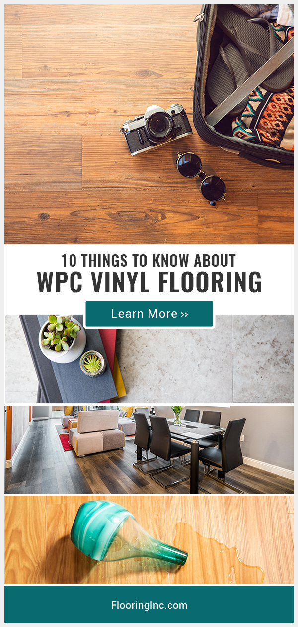 Learn all about WPC vinyl flooring, where to use it and how it compares to laminate and regular vinyl in this in-depth guide.
