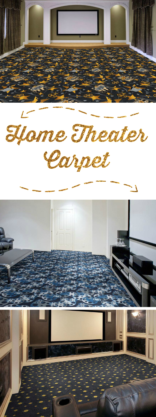 The Best Home Theater Carpet For Looks U0026 Sound   FlooringInc Blog