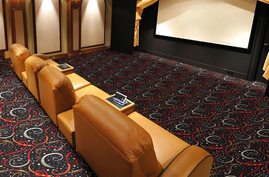 Home Theater Carpet: Find the floor that will give you the best sound quality, hottest look and best price.