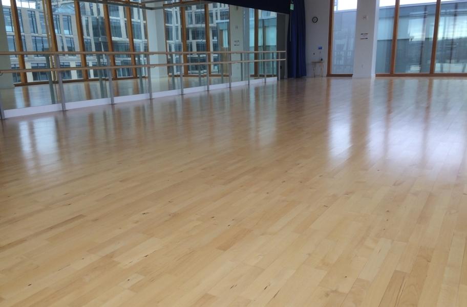 Hardwood Dance Flooring