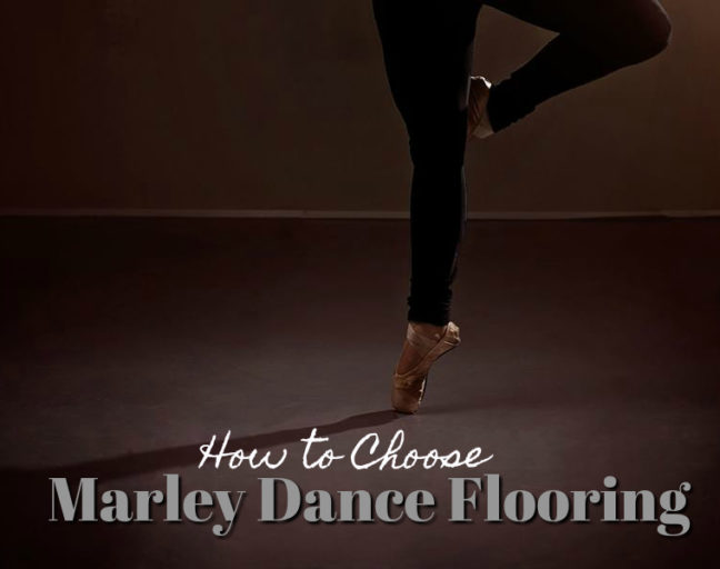 How to Choose Marley Dance Flooring: Find the best vinyl marley dance flooring rolls for your studio, company or school with our marley dance flooring buyer's guide.