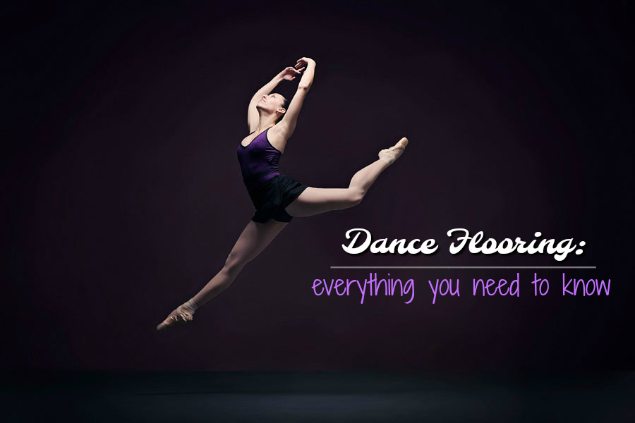 Dance Flooring Options: Everything You Need to Know - find the best dance flooring for all ballet, tap, jazz, weddings, events and more. Everything from marley to portable dance floors.
