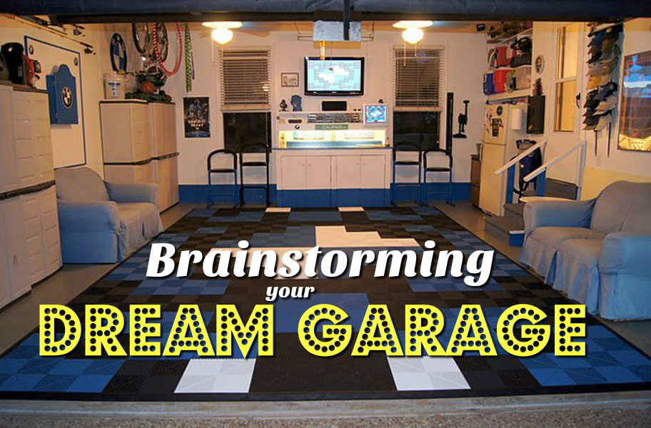 How to Create Your Dream Garage in 10 Steps: Make your man cave pop from floor to ceiling without breaking the bank