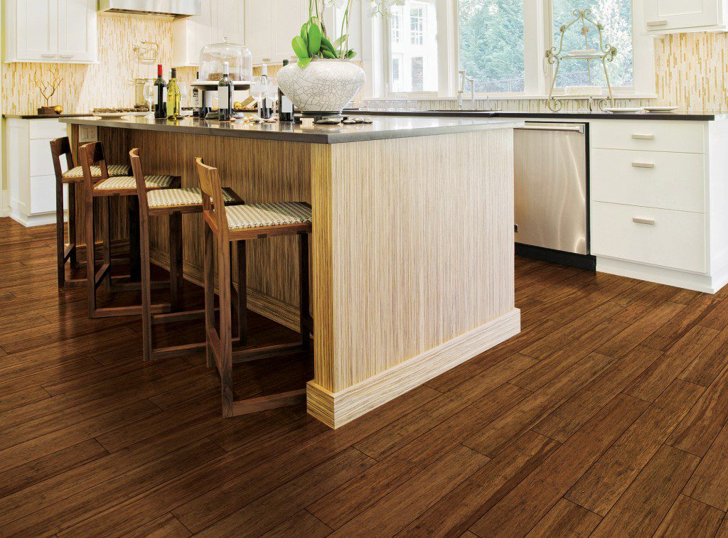 How to Choose the Best Kitchen Floor- Vinyl, tile, or wood? Which floor can handle the heat in the kitchen.
