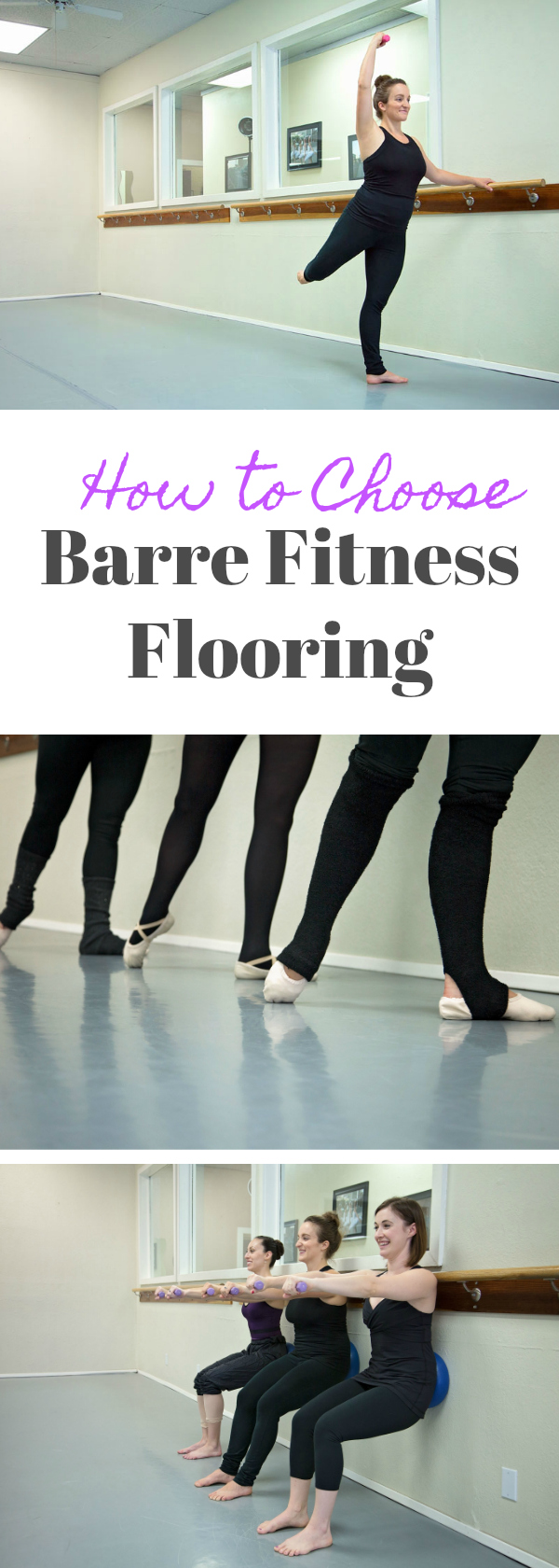 Barre Fitness Flooring: How to choose the best flooring for a barre fitness studio