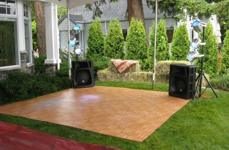 modular grid-loc dance tile