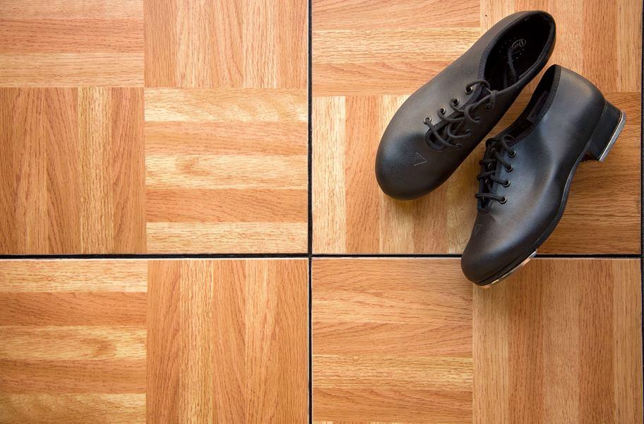 modular grid-loc tiles portable dance flooring