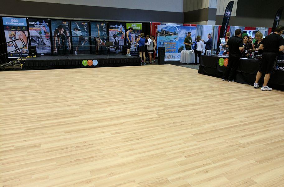 portable dance floor planks