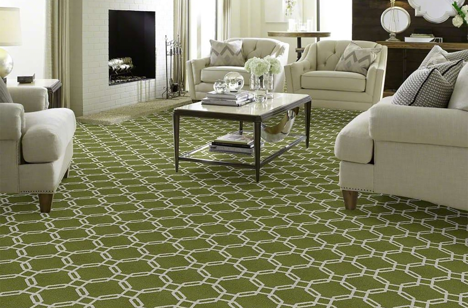 Flooring Inc. Carpet Buying Guide: broadloom carpet in a living room
