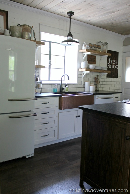 copper farmhouse kitchens