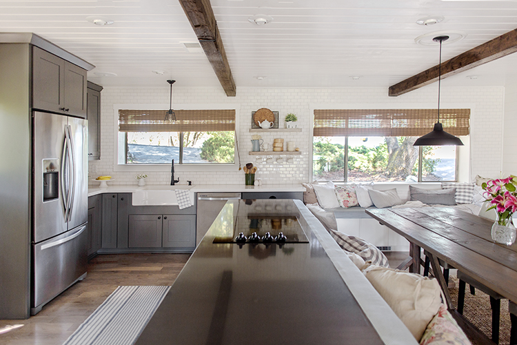 contemporary farmhouse kitchens