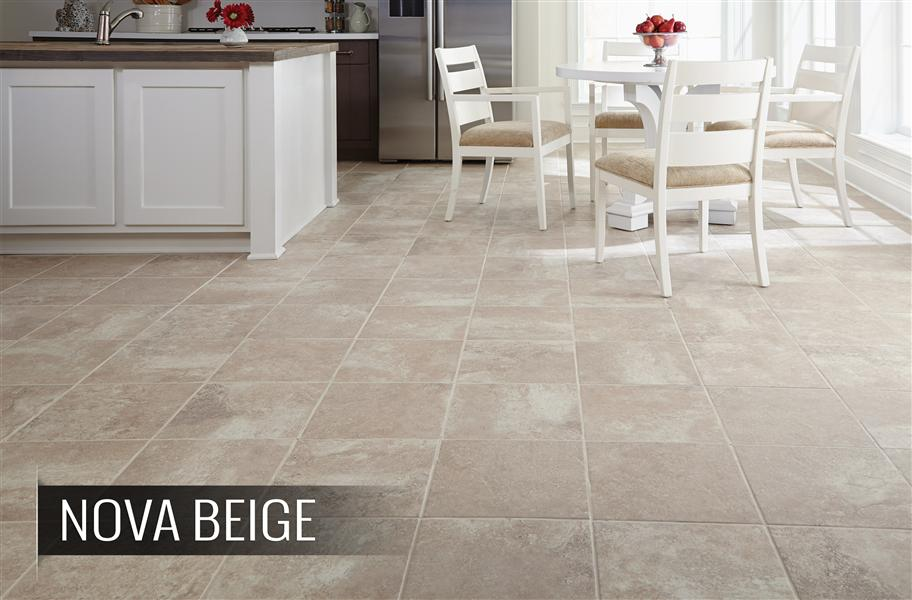 square porcelain tile