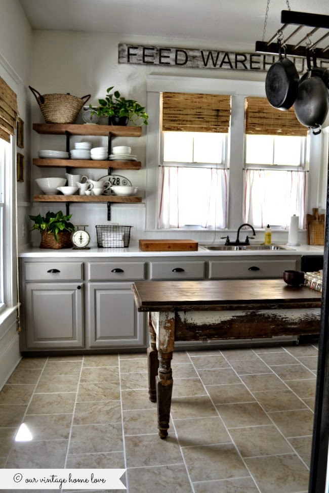 vintage farmhouse kitchens