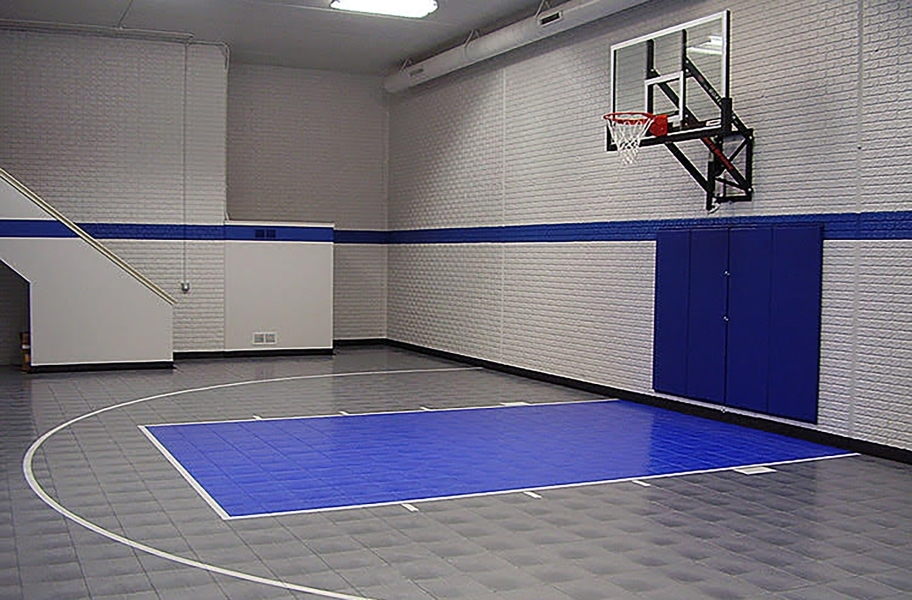 Court flooring guide: indoor sports tiles for a basketball court