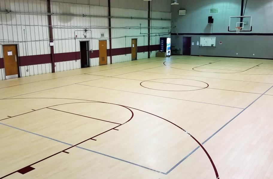 Court flooring guide: progym planks for basketball court flooring