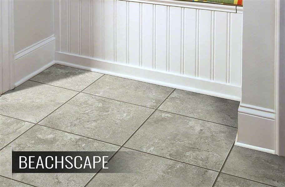 groutable vinyl tiles