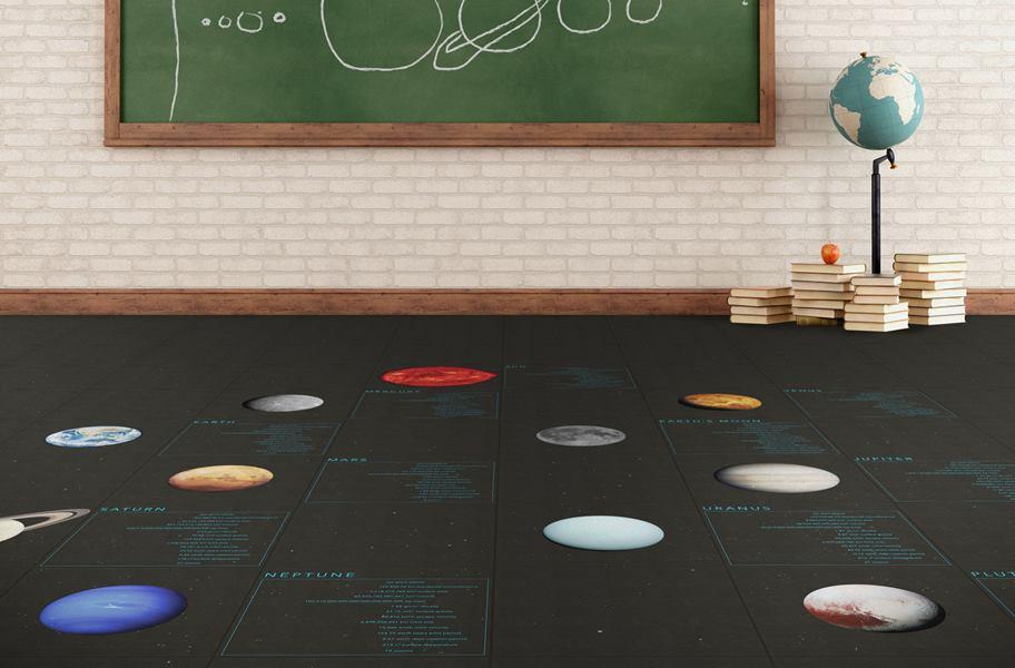 solar system flex vinyl tiles