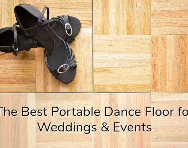portable dance floor tiles for events