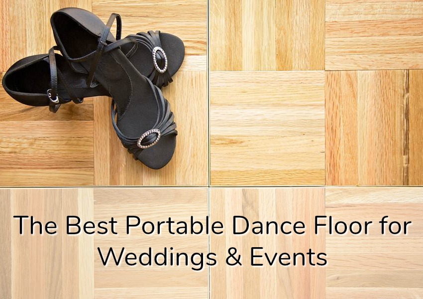 portable dance floor tiles for events