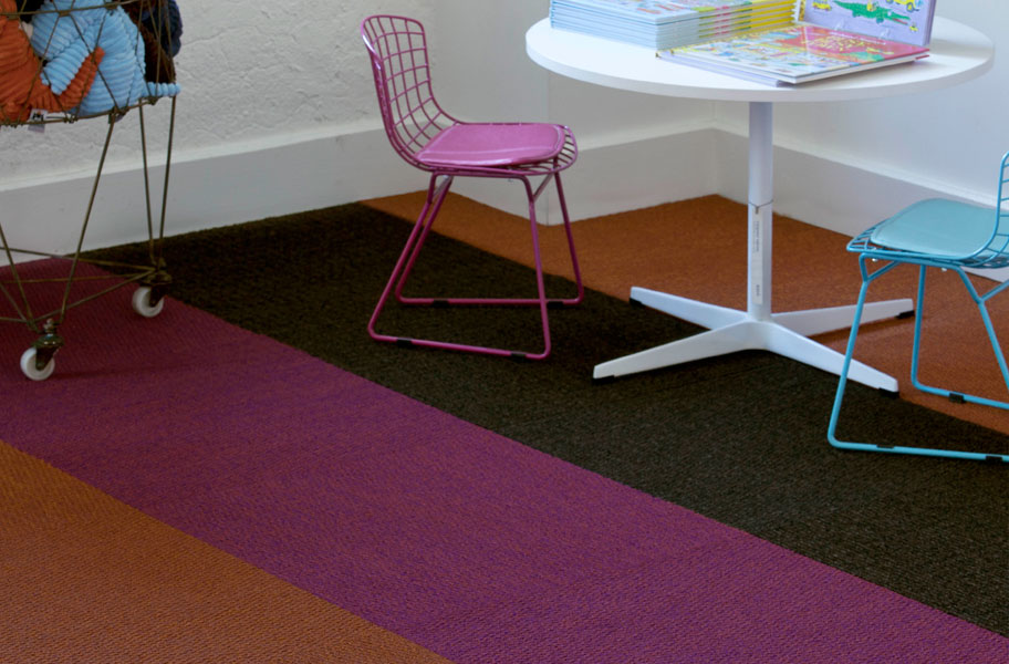 ultra violet carpet tile