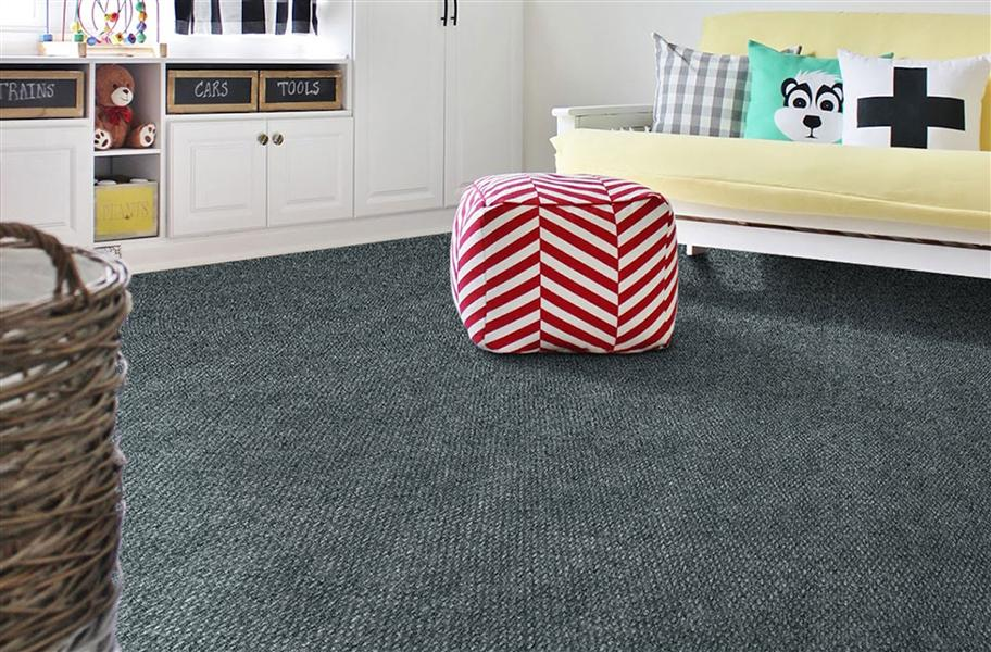 hobnail carpet rolls in gray