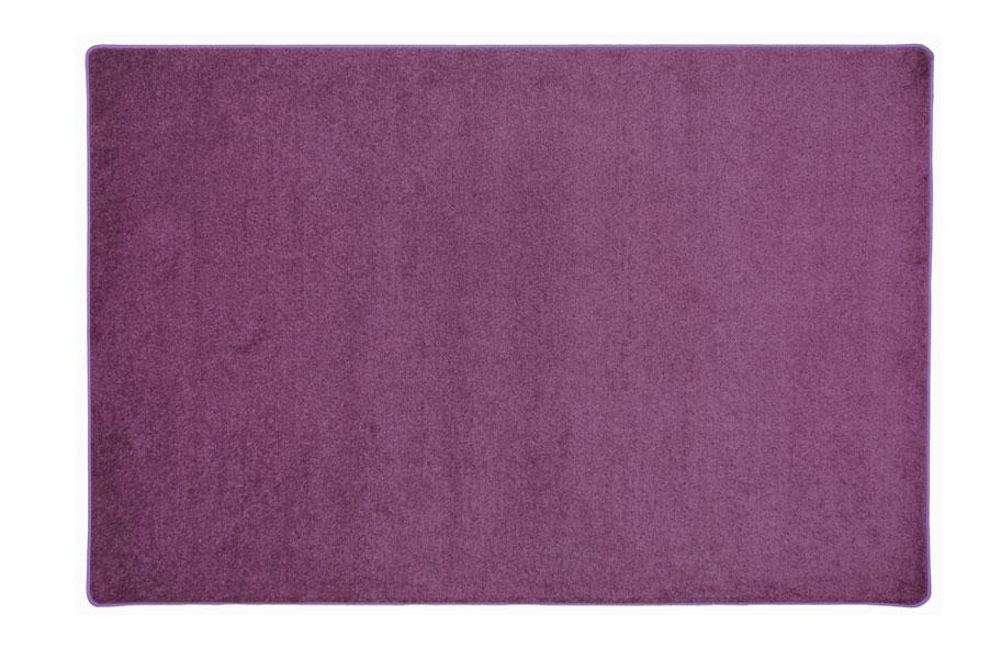 purple rectangle area rug