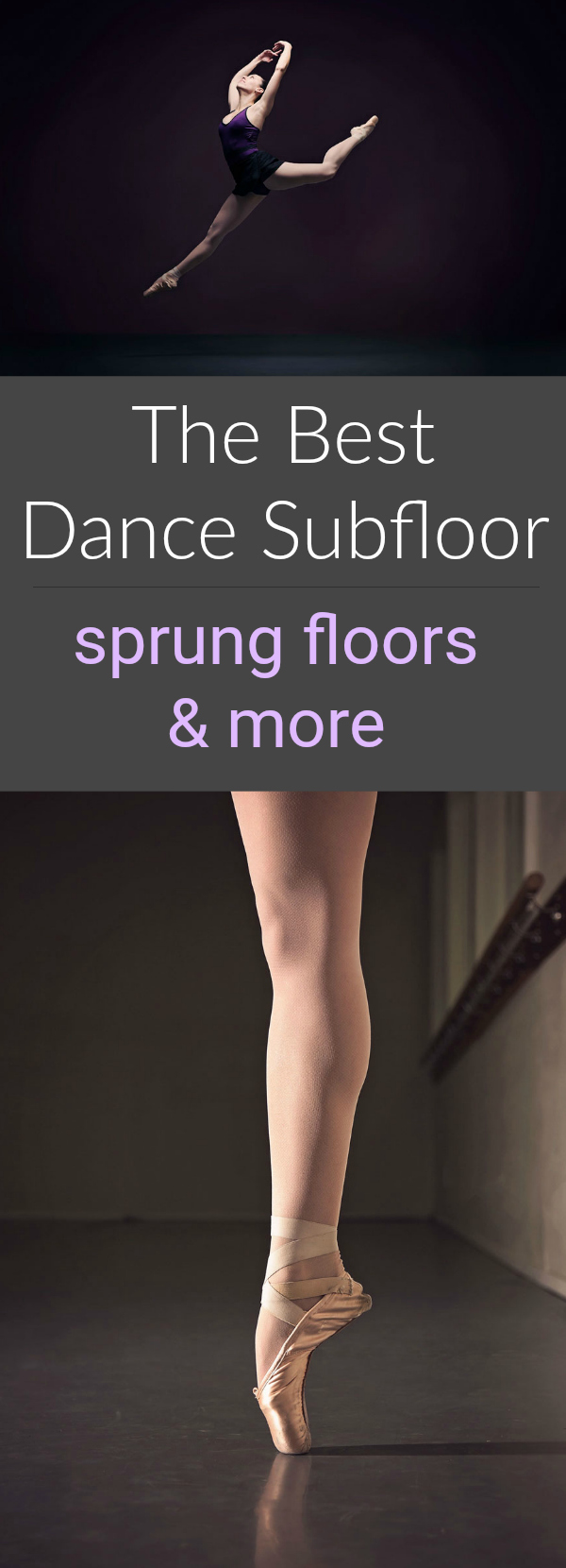 The Best Dance Subfloor: Sprung Floors & More. Find everything from home practice to professional dance subfloors.