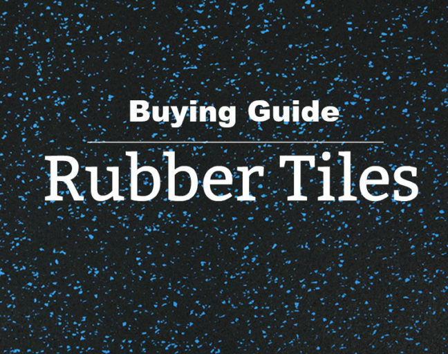 Rubber Floor Tiles Buying Guide: Learn everything you need to know when you purchase rubber tiles from durability to application to color and design.