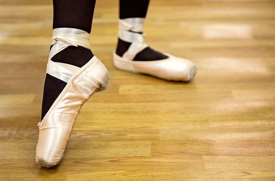 dance studio wood flooring