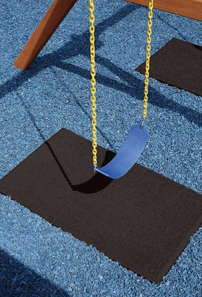 playground flooring playground swing mat and blue rubber mulch