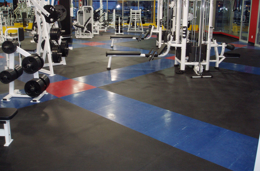Gym flooring for garage multi purpose rubber floor mats for garage