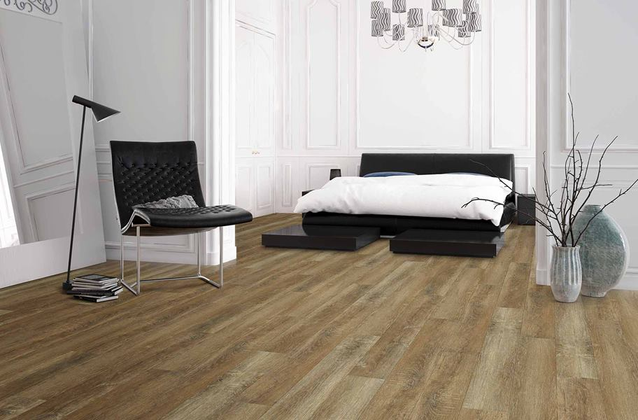 Rigid Core Luxury Vinyl Flooring: SPC vs. WPC. Learn about the latest trend on the flooring market - completely waterproof rigid core vinyl flooring