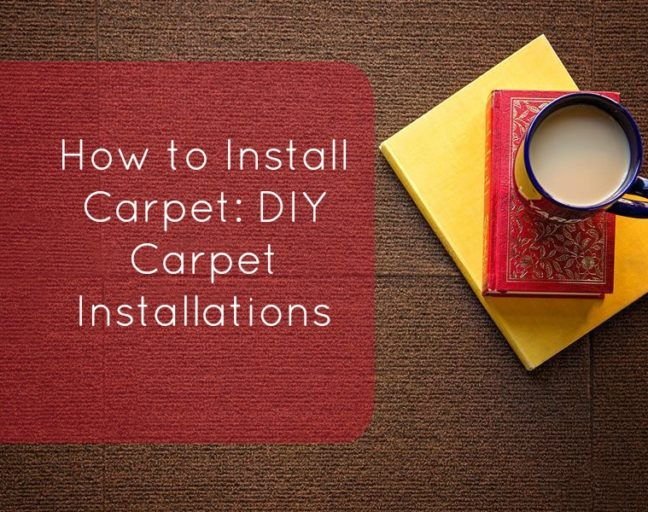 How to Install Carpet - DIY Carpet Installations