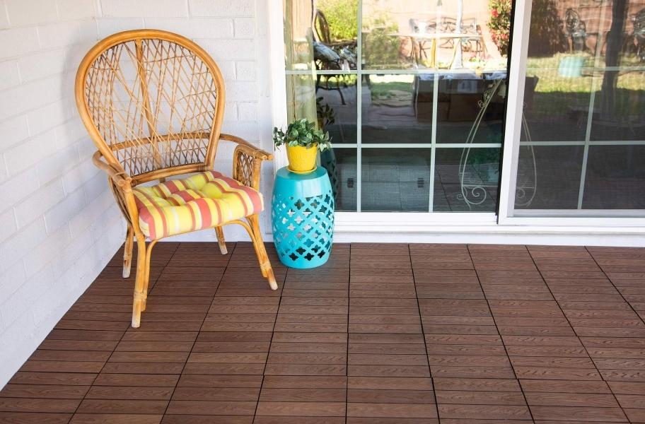 Composite decking buying guide: century outdoor deck tiles