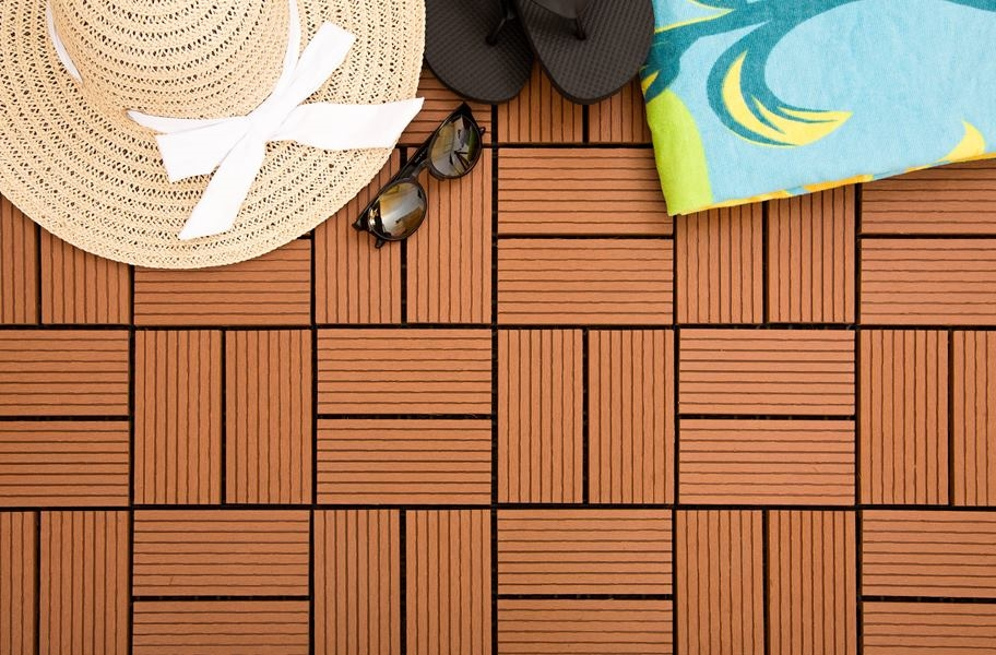 Composite decking buying guide: helios deck tiles 8 slat