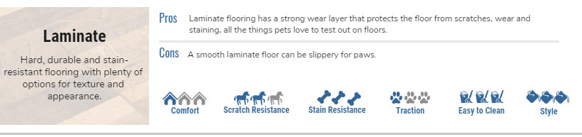 Pros of Laminate as Pet-Friendly Flooring