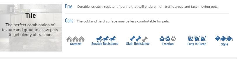 Pros of Tile as Pet-Friendly Flooring