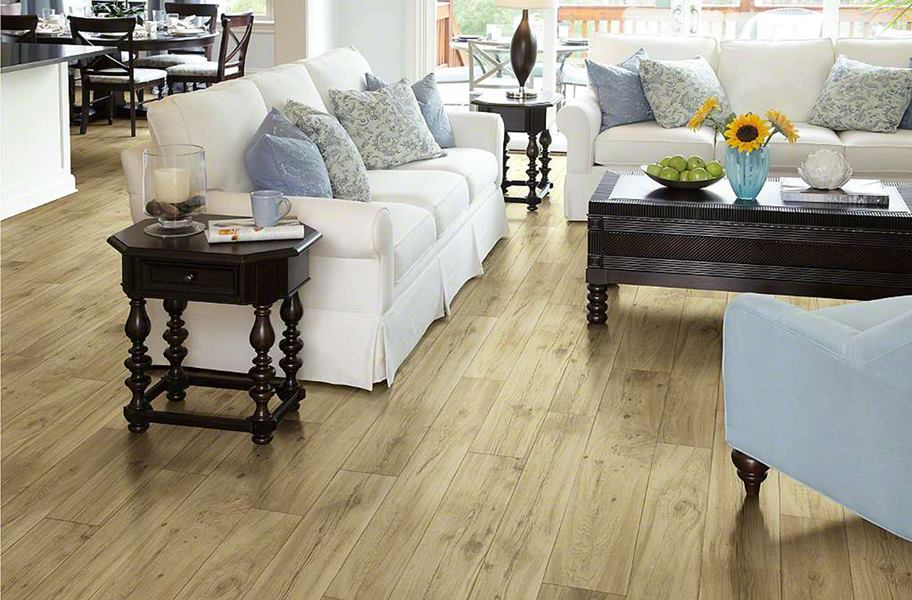 blonde sheet vinyl flooring