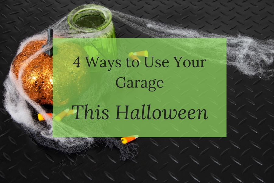 4 Ways to Use Your Garage This Halloween