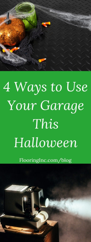 Are you looking for fun and frightening things to do this Halloween? Keep the thrills close to home with a garage Halloween party! Here are 4 Halloween garage ideas for entertaining your friends, family and trick-or-treaters.