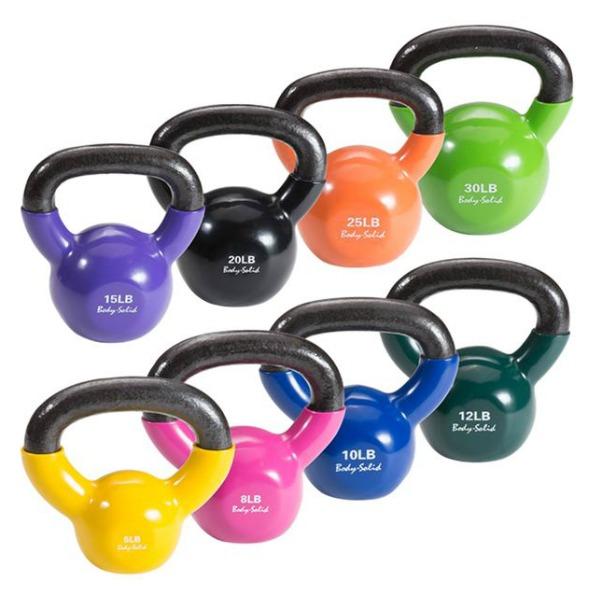 vinyl coated kettlebell sets