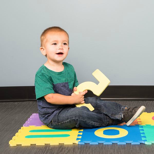 learning numbers play mat