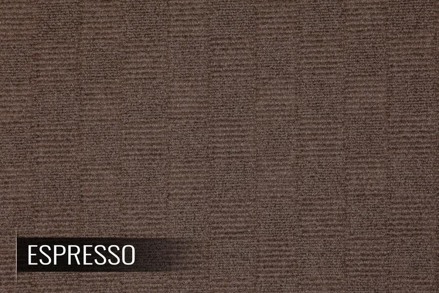 FlooringInc Crochet Carpet Tiles in Espresso color