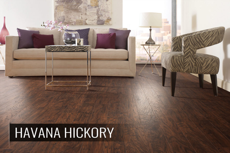 Mohawk laminate flooring in a residential setting
