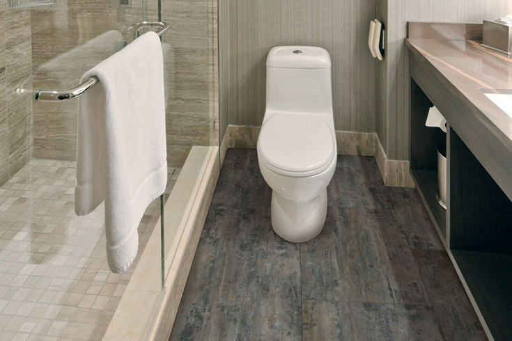 2019 Bathroom Flooring Trends