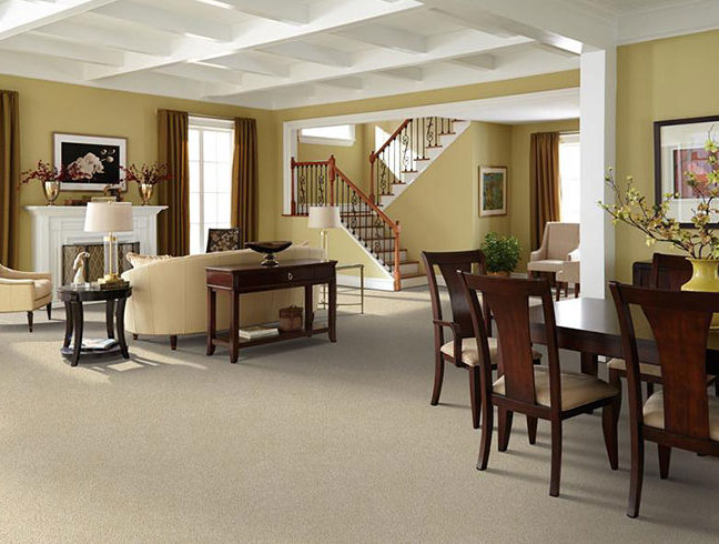Flooring Inc 2020 Carpet Trends - carpet in residential setting