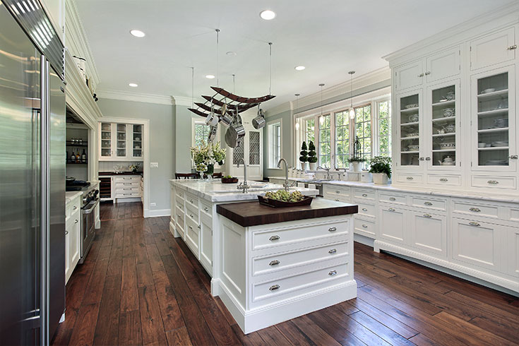 2021 Kitchen Flooring Trends 20 Kitchen Flooring Ideas To Update Your Style Flooring Inc